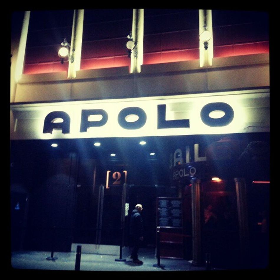 Apparat dj set en el Apolo de #Barcelona. Oh yeah! Love Barcelona Apparat Apolo