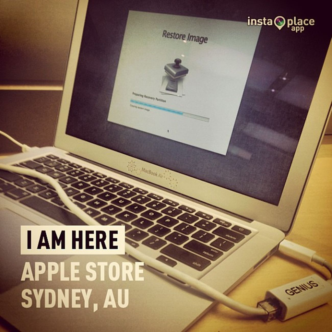 InstaPlace Instaplaceapp Instagood Photooftheday instamood picoftheday instadaily photo instacool instapic picture pic @instaplacemobi place earth world australia AU sydney applestore shopping street day restore