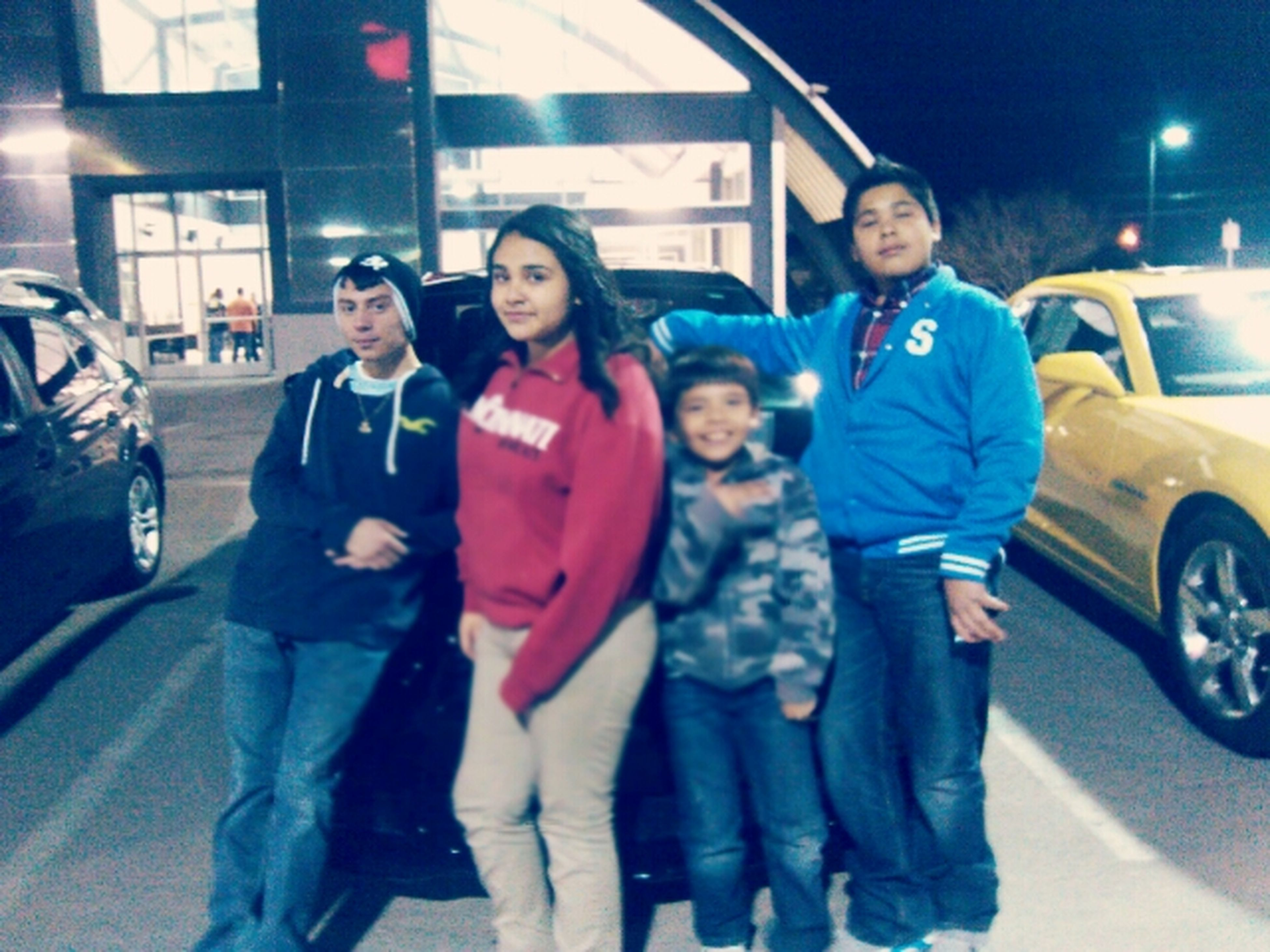 My Brothers And Cousin (: