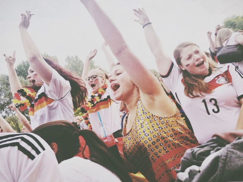 Celebrating Authentic Moments People The Human Condition The Fan Club Capture The Moment Brazil 2014 World Cup