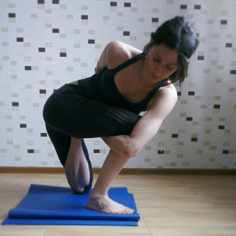 Beautiful Happy Love Yoga Girl Sport Fitness Flexible