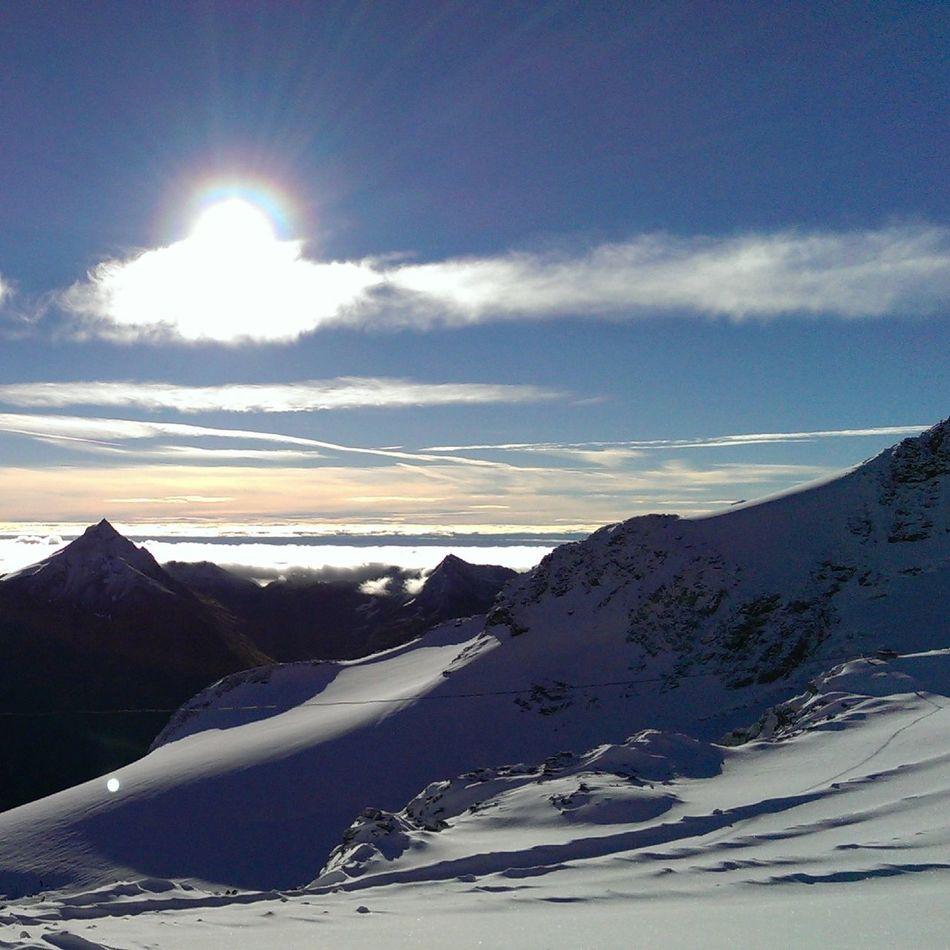 mountains Saasfee
