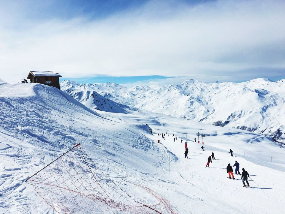 Meribel eSnow lSnow ❄ SCold ❄Mountains Skiing Ski