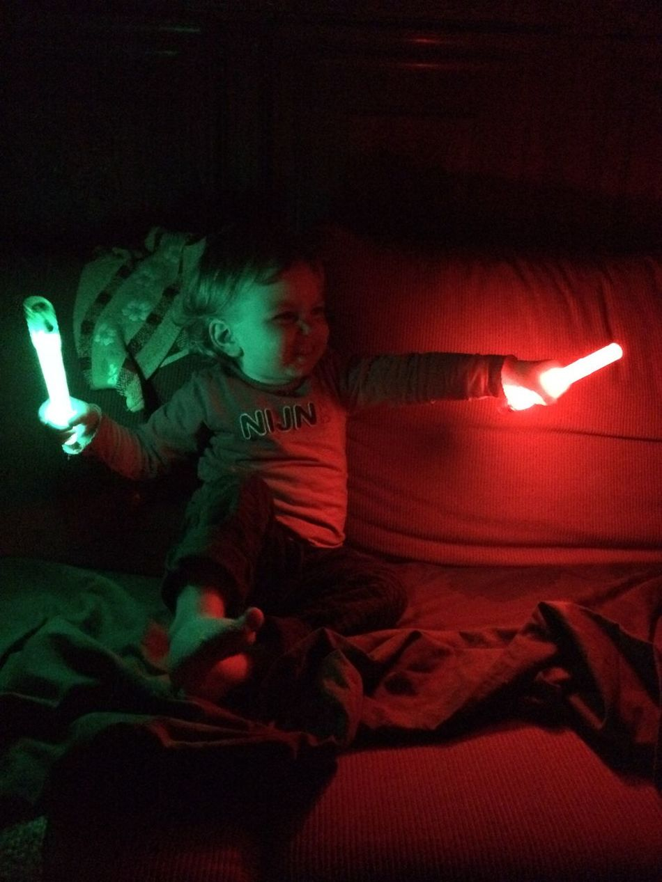 Child Laserbeam Lightsaber Nyne-Rosa Playing With Light Star Wars Star Wars The Force Awakens The Netherlands