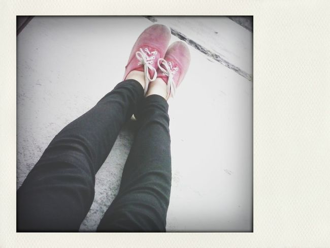 Thinspo Red Shoes Living Large ✊