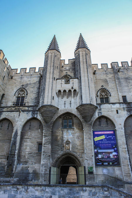 Arch Architecture Avignon Building Exterior Built Structure Cathedral Church Cross Culture Façade Historic History Old Palais Des Papes Place Of Worship Religion Spirituality