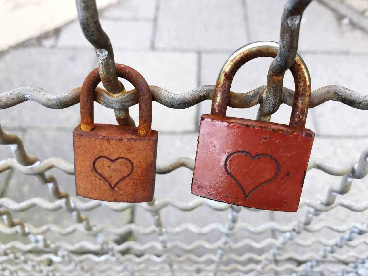 Love Locks Lock Heart Padlock Love Security Metal Protection Love Lock Safety Heart Shape Close-up Romance Hanging Railing Focus On Foreground No People Luck Chain Outdoors Hope Faith