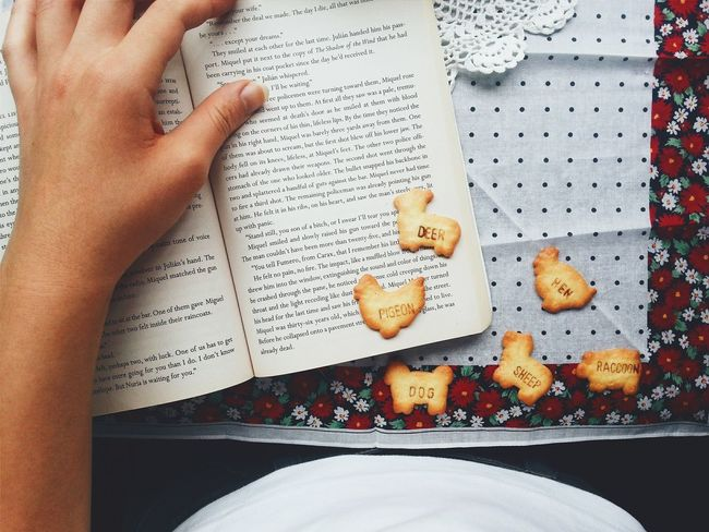 Relaxing Dayoff in the middle of the week. Books The Foodie - 2015 EyeEm Awards Animalcookies Cookies