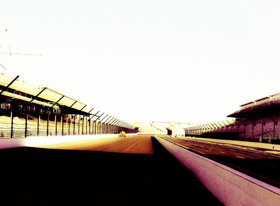 Empty Racetrack Starting Grid Architecture Copy Space Built Structure Clear Sky Day Building Exterior No People Outdoors Sky Close-up Motorsport Indianapolis  Indy 500 Track Transport Travel Destinations