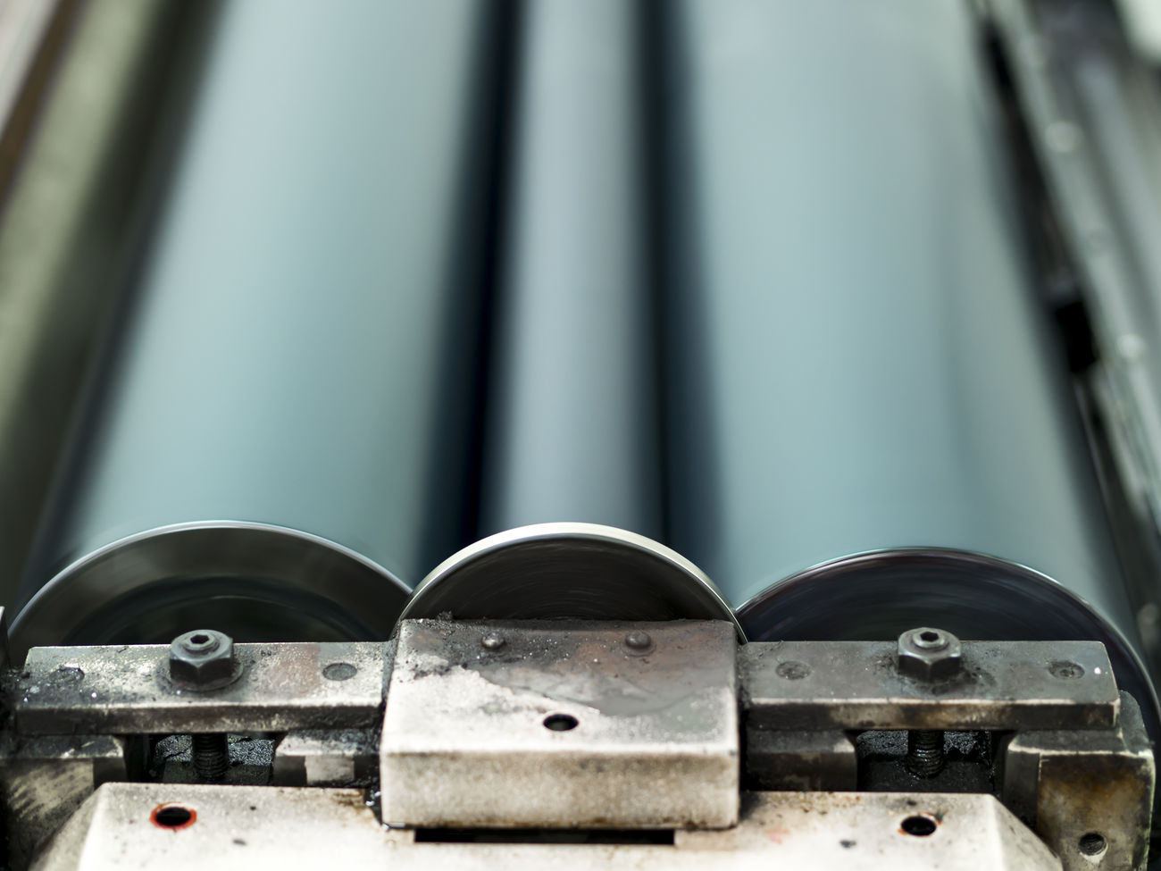 Abstract Abstract Photography Bolts Circular Close-up Design Graphic Design Industrial Ink Lithography Machine Metal No People Nuts Print Printer Printing Printing Press Proofing Roller Symmetry Teal Vertical Vertical Symmetry Wet Proof