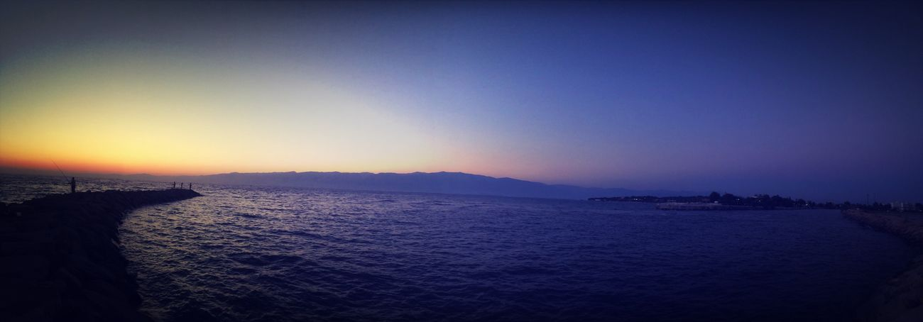 Turkey Sea Burhaniye Sea And Sky Yazlıkta güneşi uğurlarken
