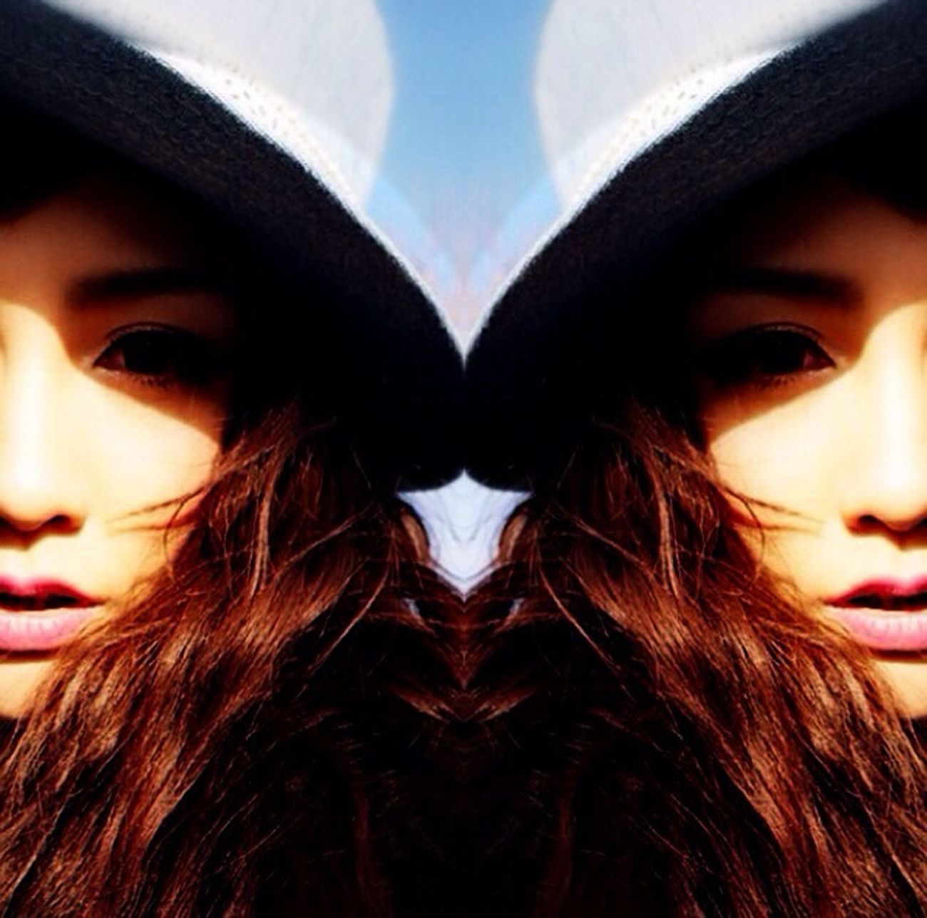Model Girl Imange Hair