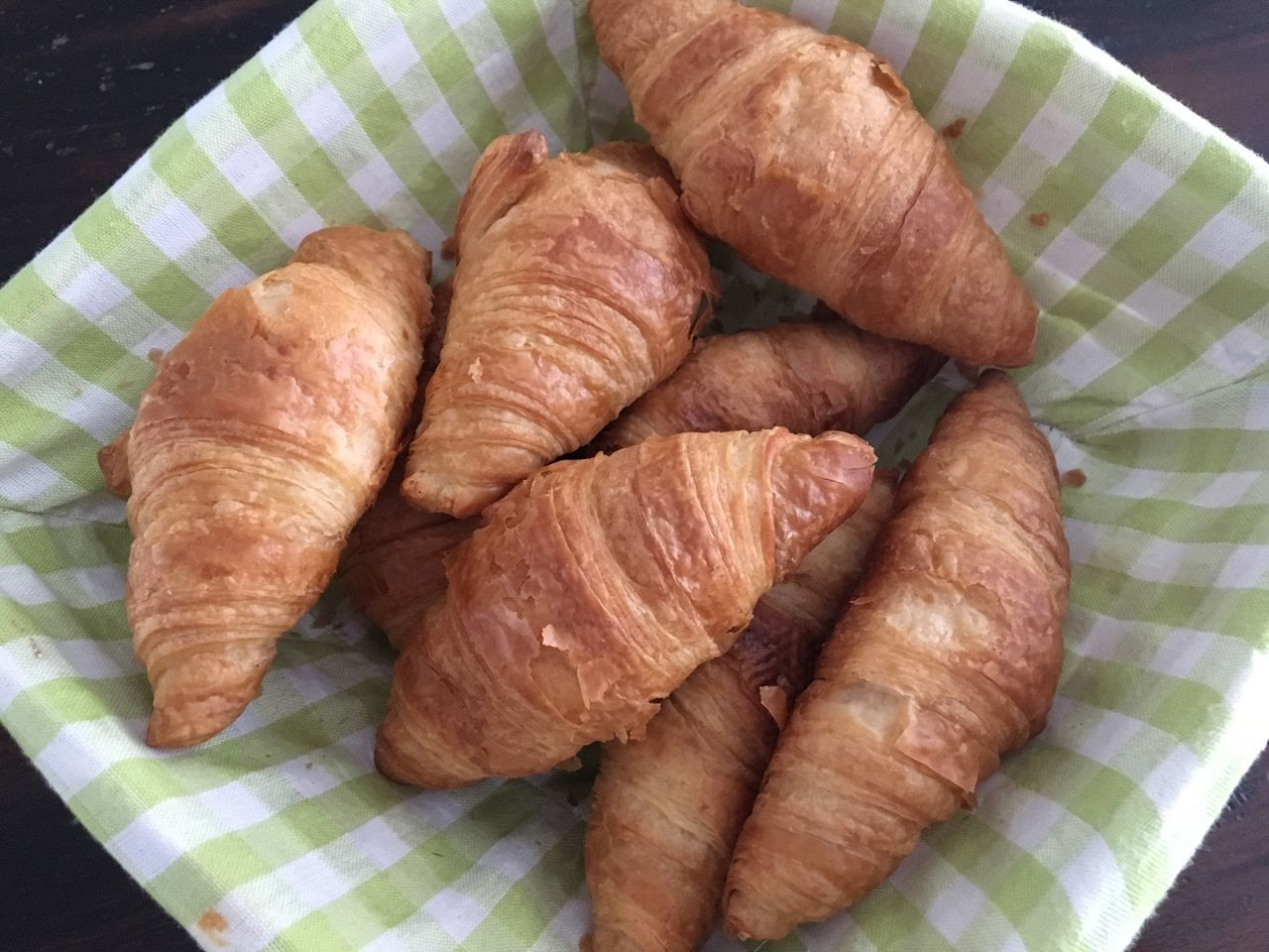 Croissants Freshly Baked Food And Drink Food Close-up Large Group Of Objects No People Freshness Indoors  Ready-to-eat
