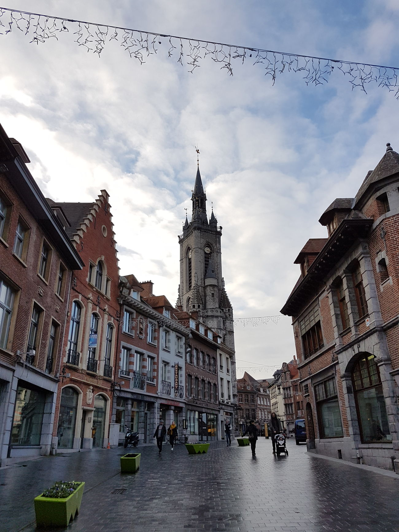 Architecture Travel Destinations Building Exterior City Built Structure Travel Sky Outdoors Cityscape Cloud - Sky Cultures Victorian Style Tournai Belgium