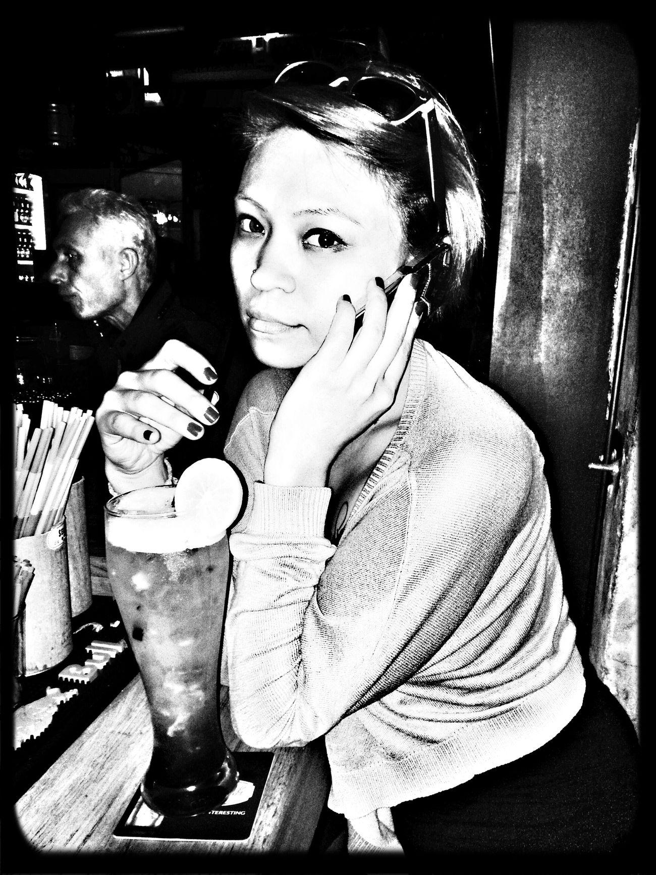 Black & White Popular Photos Long Island Ice Tea Bestfriend