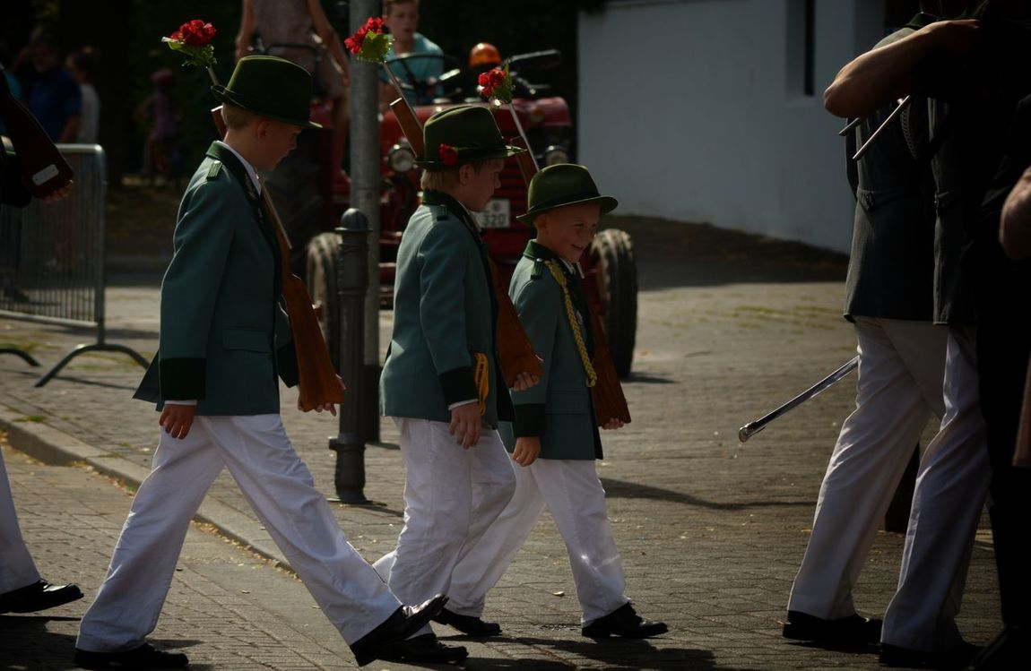 Childhood Schützenfest Willich From My Point Of View Day Outdoors People Children Uniform Tradition Summer Marching Parade Next Generation