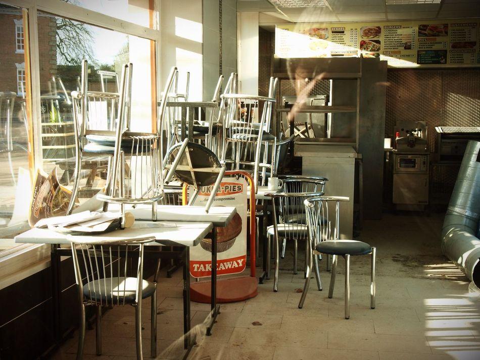 Closed Down Steve Merrick Zuiko Olympus Swaffham Stevesevilempire Chip Shop Economy Economics