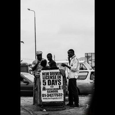 License to hustle. Lagos seeks no permission. Go hard or go home. MonchromeLagos Streetphotography InstaLagos LooklikeLagos lagos art logorofafrica fineArtAfrica