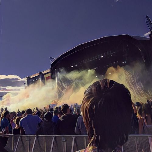 T in The Park - Main Stage Titp Outdoors People Large Group Of People Adult Clouds My Year My View Crowd Festival Festival Season Stage - Performance Space Music Festival TakeoverMusic