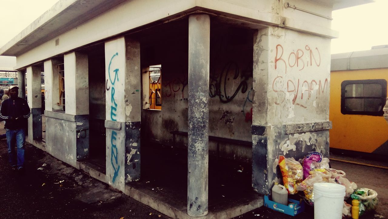 Station People Vandilism Standing Out From The Crowd Real People Building Exterior Reality Petrol Bomb EyeEmResist