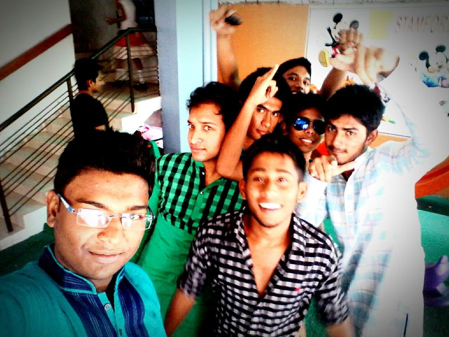 With Friends... ;)