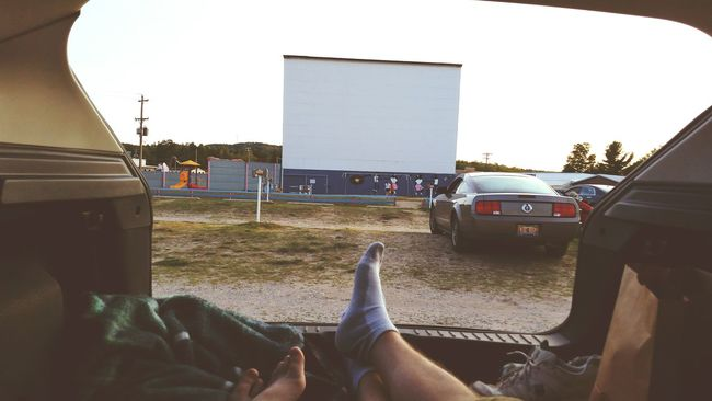Waiting for the movie... Drive-in Theater Movies On A Date Summer Fun Enjoying Life