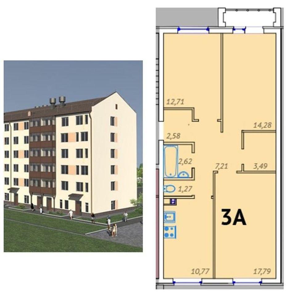Новый дом ГП-4 в ЖК «Клевер» 3-комн. от 3450 тыс. руб. Тюмень Tyumen новостройкитюмени квартира  скидки новостройка
