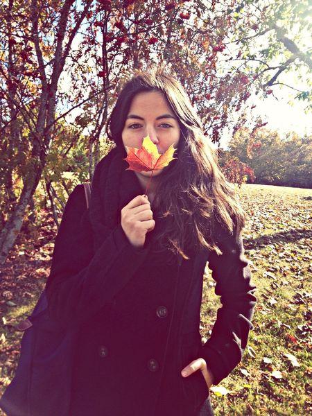 Autumn Taking Photos
