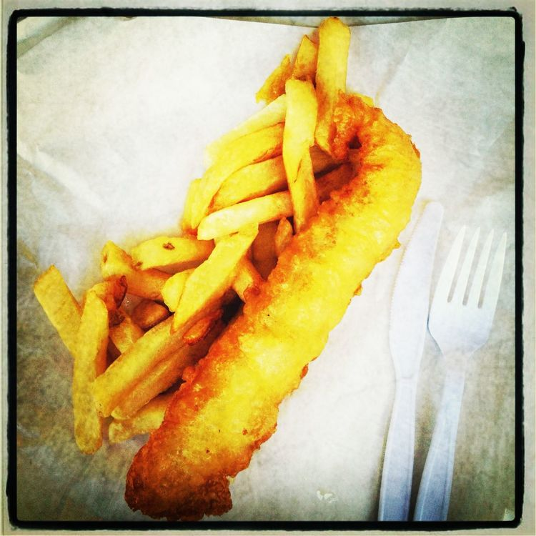 Lunch at Smiths Authentic British Fish And Chips by Baiana Santos