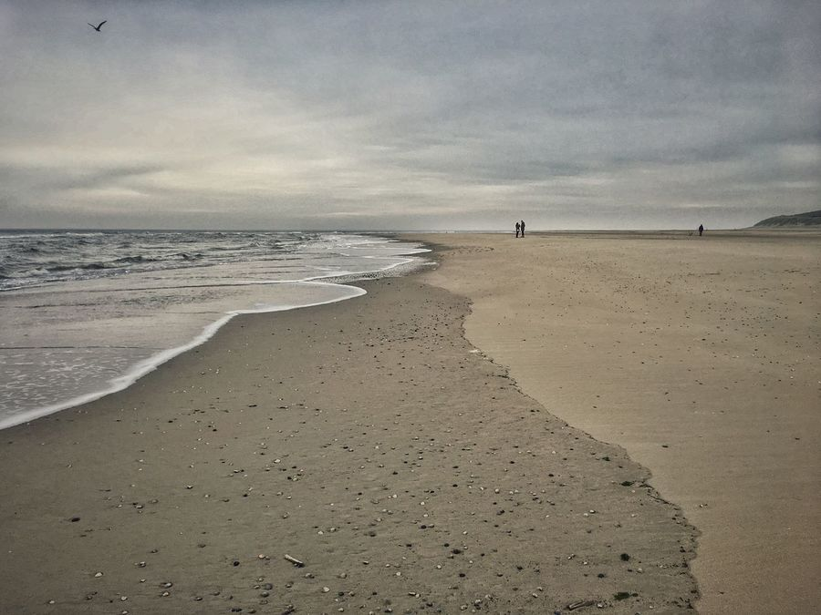 Wintertime on the beautiful island of Texel. Beach Beauty In Nature Clouded Cloudy Cloudy Sky Day Emptiness Friesen Holland Island Melancholic Melancholic Landscapes Nature Nature Nederland Netherlands Outdoors Sand Sight Sky Texel  View Water Winter Wintertime