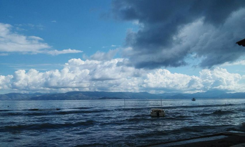Cloud - Sky Horizon Over Water Nature Beauty In Nature Sky Amateurphotography Illbeyoursky EyeEmNewHere Lost In The Landscape Perspectives On Nature
