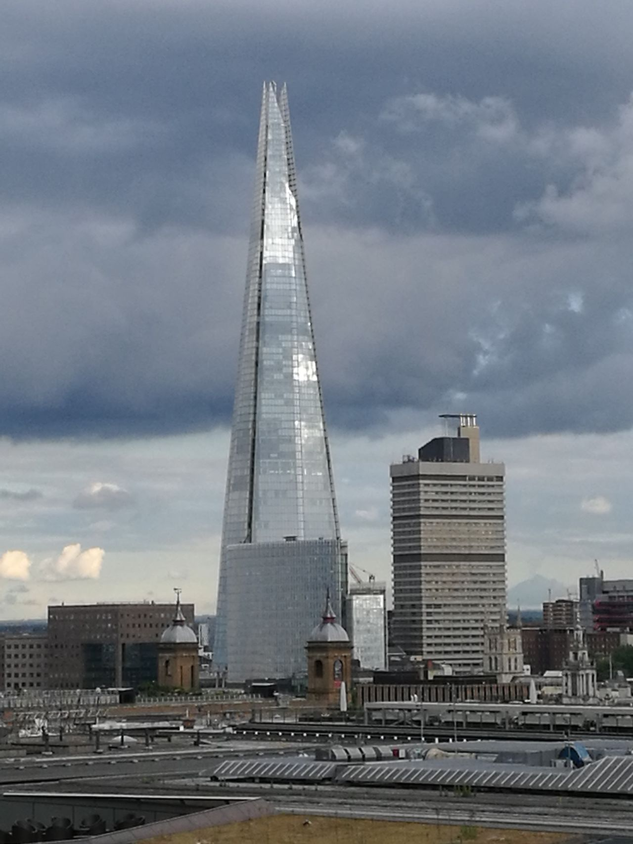 The shard Tower Architecture Skyscraper City Cloud - Sky Sky Urban Skyline Cityscape Built Structure Building Exterior Steel Day Outdoors Modern No People