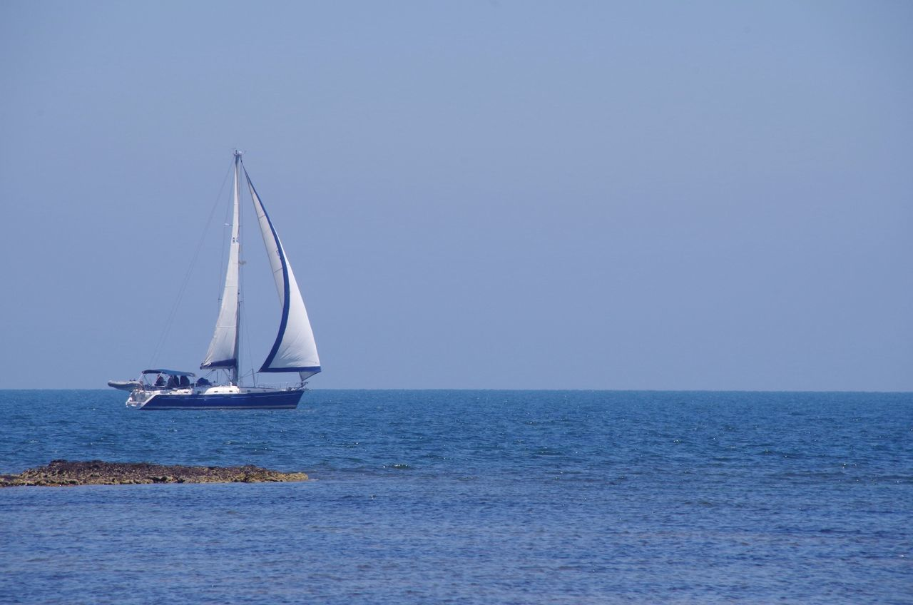 Beautiful stock photos of sailing, Beauty In Nature, Clear Sky, Copy Space, Day