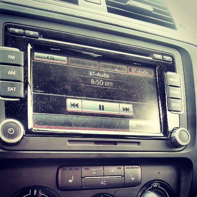 Nothing like playing some Pandora through the car. Fenderaudio Volkswagen Imaginedragonsradio
