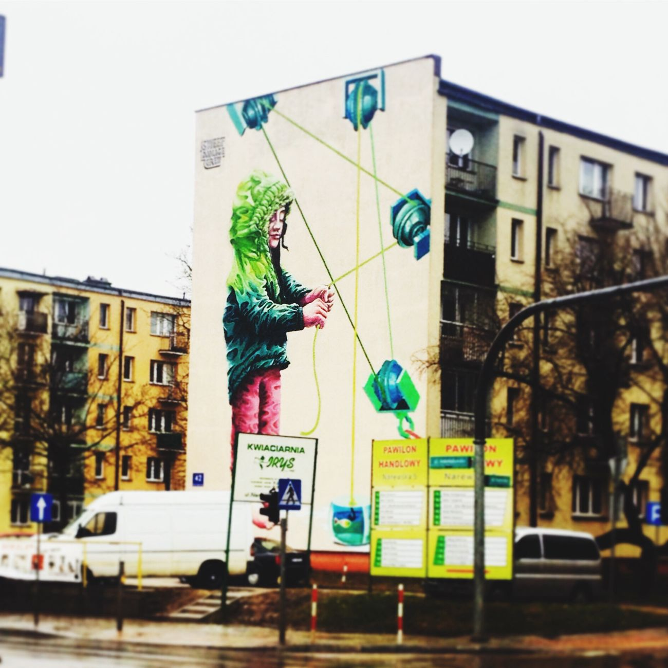 Mural Art Mural Saturday Poland Built Structure Street Architecture