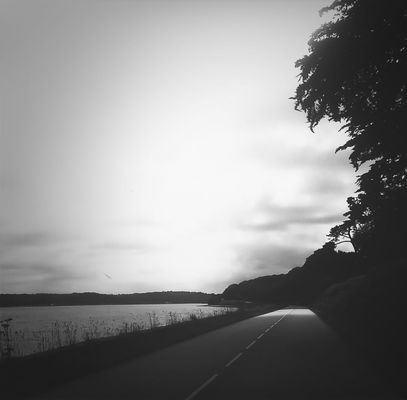 on the road_bnw_friday by Maud
