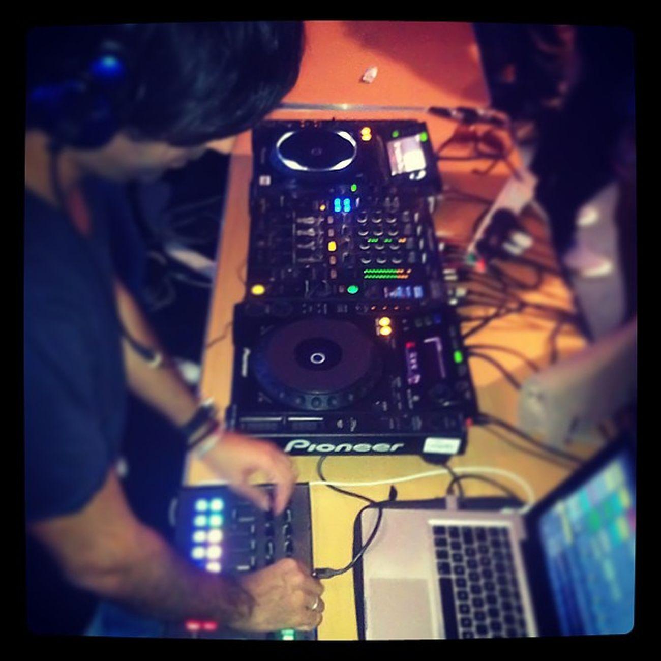 My favourite Dj working is Melodic magic! Guyj Balance Edm Pioneer Livid MacBookPro CDJ APOGEE Ableton Live9 Music Dance Ilovehouse Ilovedance