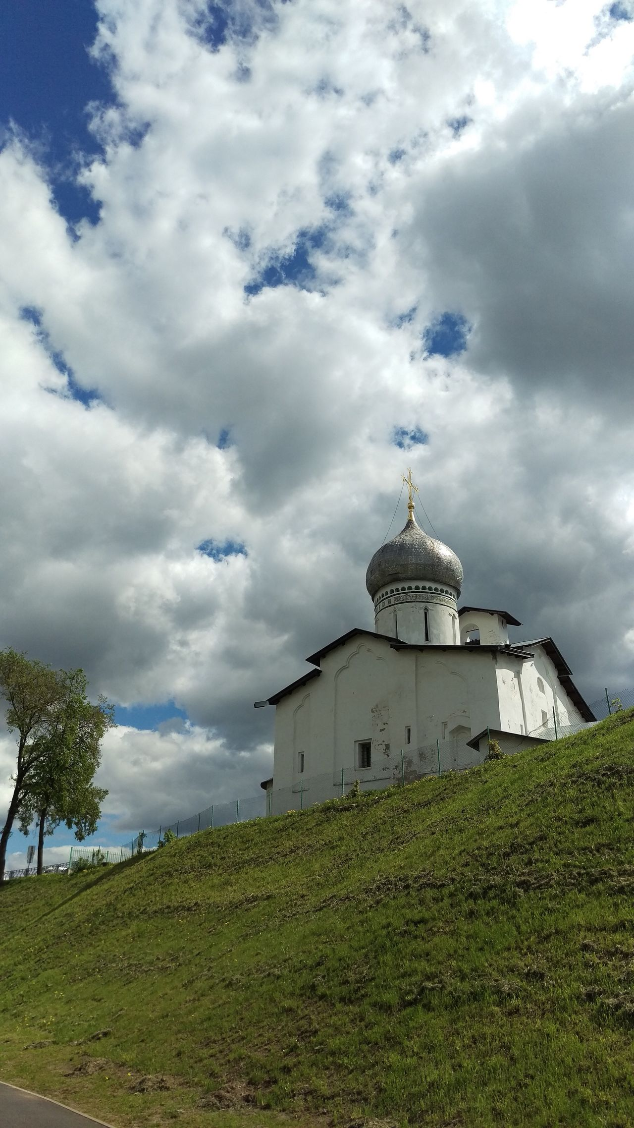 Church on the hill Pskov Russia Church