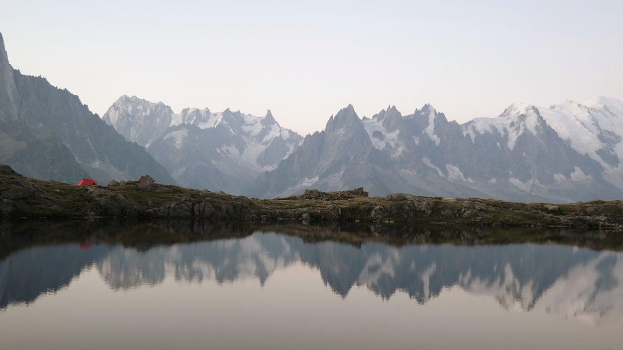 Beautiful stock photos of guten morgen, reflection, water, tranquil scene, scenics