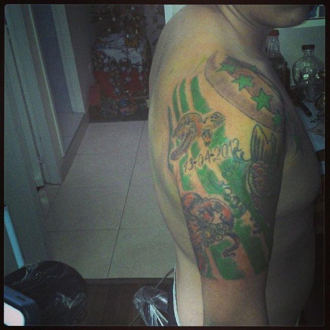 Fin del Tatto Art Tatuaje Verdolaga hooligans
