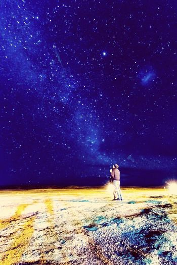Star - Space Beauty In Nature Real People Galaxy