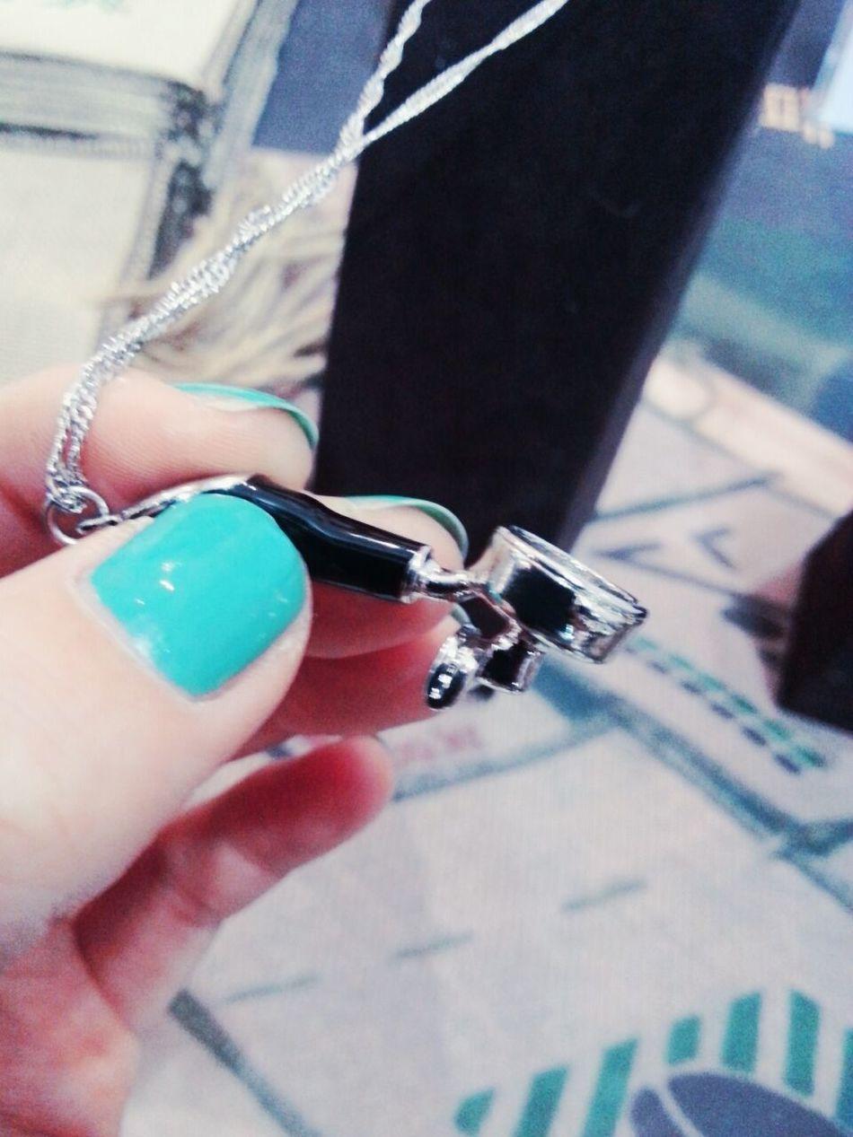킨텍스 Coffee ☕ Filter Holder Necklace