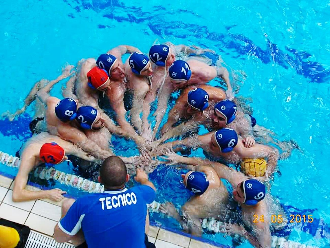 Roseto Degli Abruzzi Waterpolo Sweemingpool Teem Determination Victory