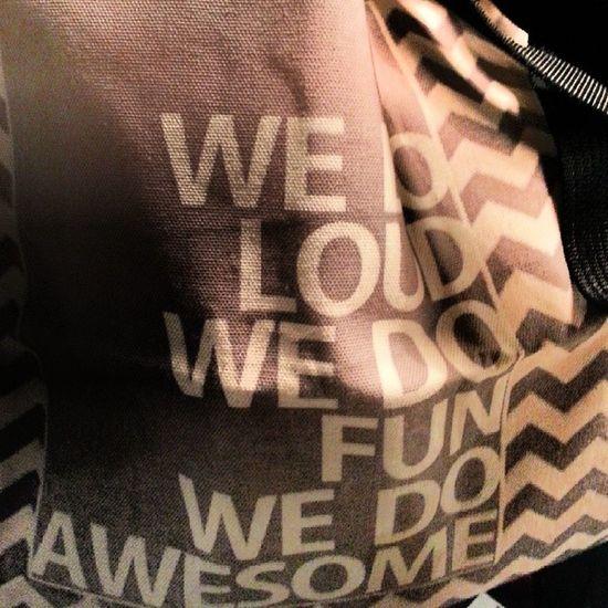 New textile bags Wedoloudwedofunwedoawesome Bag Textilebag Handprint dublin