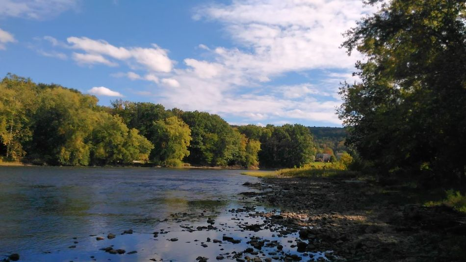 Saw today Tranquility River Beauty In Nature Tranquil Scene Countryside Cloud - Sky No Filter, No Edit, Just Photography Sawonmyadventure Personal Perspective Onlygodcouldcreatethis Allegheny River