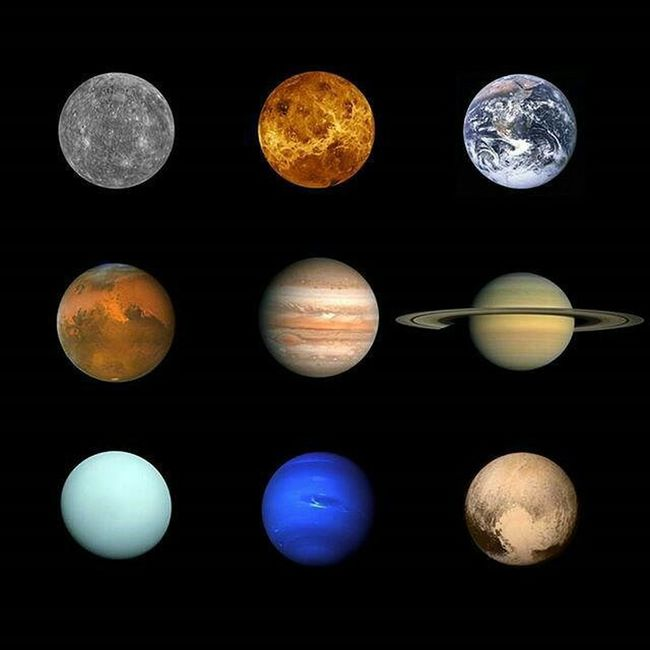 The 9 planets photos have been completed in our lifetime! 🌌 🌍 Plutoflyby
