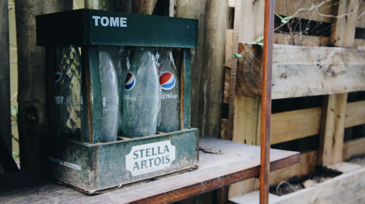 Vintage Pepsi Garden Stellaartois Green Cage Old Wood Bottles Green Box Cage Industria Argentina Bottle Collection