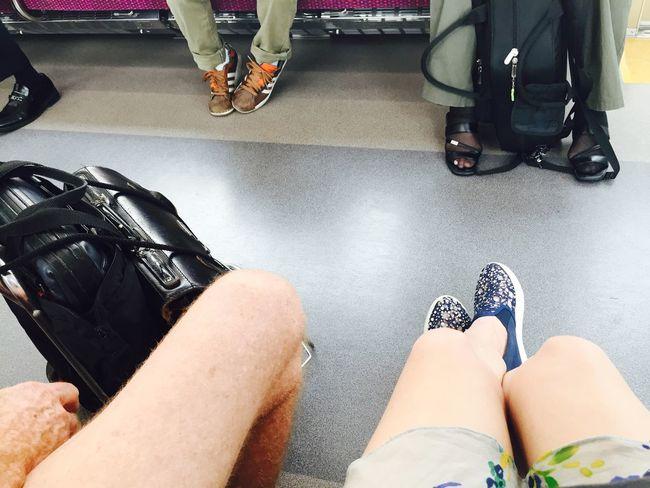 親子膝⁽⁽٩(๑˃̶͈̀ ᗨ ˂̶͈́)۶⁾⁾ Travelingfoot