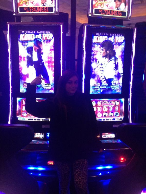 Michael Jackson Casino Thriller