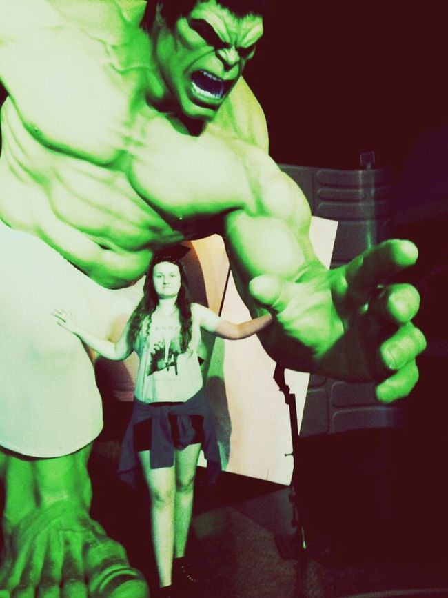 Hulksmash My Man 💃💃💃💃 Vacation Time Madametussauds